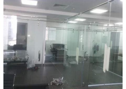 Glass Partition, Gypsum Partition, Swing Door, Shower doors Supply Installation 0525868078