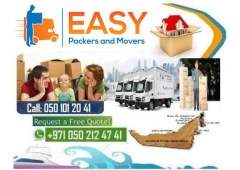 EASY HOUSE MOVING 0509669001 PACKING AND STORAGE RAS AL KHAIMAH