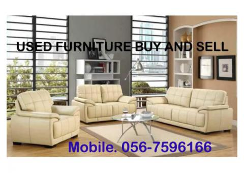 BUYE ALL TYPE USED FURNITURE 0567596166