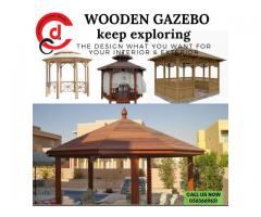Luxury Patio Wooden Gazebo Designs in Dubai