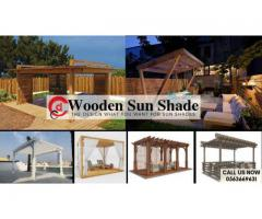 Wooden Sun Shade Manufacture and Supplier Dubai