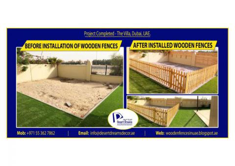 Kids Play Area Fences Uae   White Picket Fences   Events Fences   Free Standing Fences Dubai.