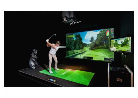 Best Golf Simulator | X-Golf Commercial Golf Simulator Dubai