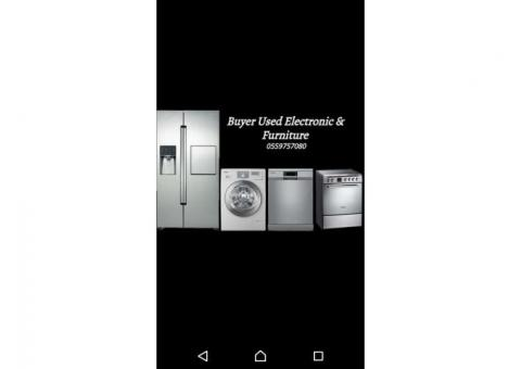 Buyers  Used Furniture & Electronics  0559757080y