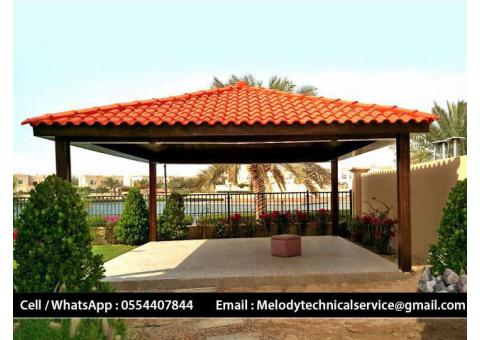 Wooden Gazebo Dubai | Gazebo In UAE | Garden Gazebo In Jumeirah