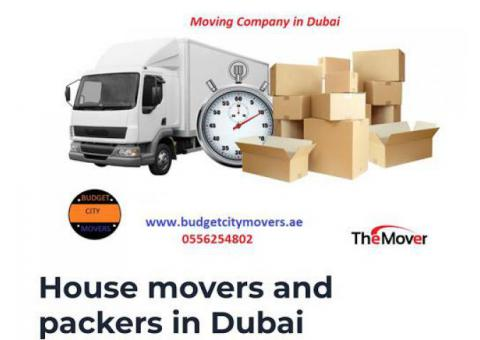 Budget City Movers in Emirates Hills 0556254802