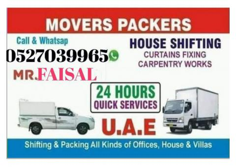 PickUp Truck Moving Service Dubai|0527039965
