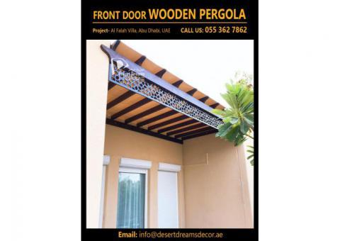 Entrance Pergola Dubai | Entrance Door Pergola | Large Area Pergola | Villa Pergola Design Uae.