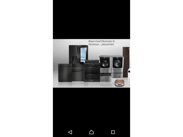 Buyers Used furniture & Electronics call 055 9757080
