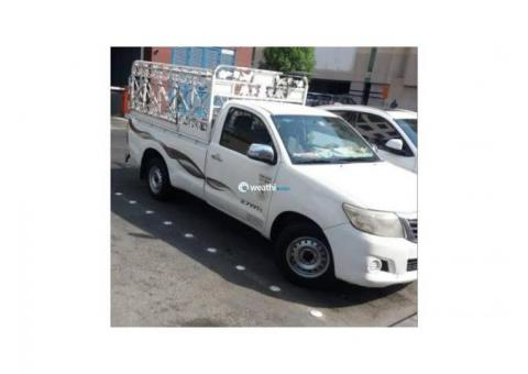 1 ton pickup for rent in al qasba 0553432478