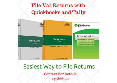 Tax Invoice as per FTA Requirement - QuickBooks UK Edition | Tally ERP 9, Perfonec