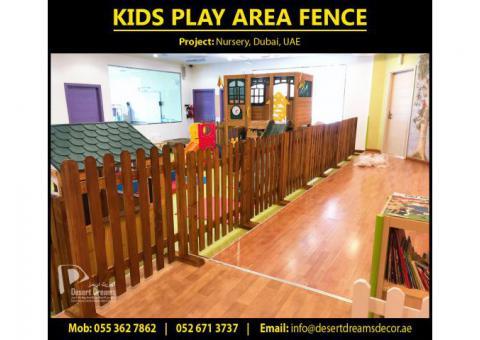 Kids Privacy Fences Dubai | Pool Area Fences | Garden Wooden Fences Uae.