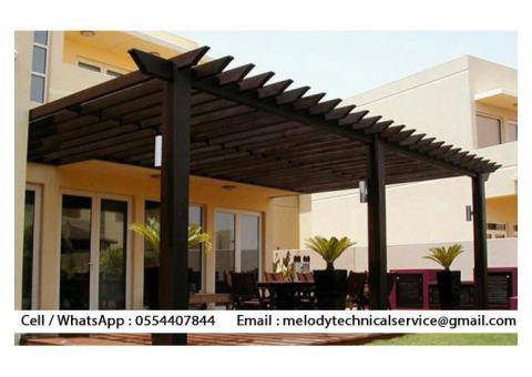 Garden Pergola Suppliers | Pergola Manufacturer Dubai | Wooden Pergola UAE