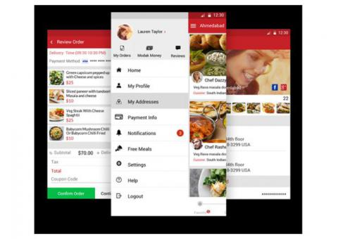 Get Your Best Food Delivery Mobile App Development Company