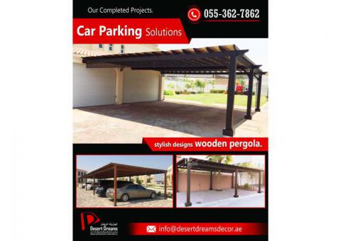 Car Parking Shades Uae | Small Parking Area Pergola | Large Parking Area Pergola | Dubai | Uae.