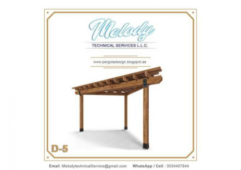 Pergola Suppliers UAE | Pergola in Dubai | Wooden Pergola UAE