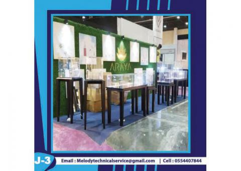 Jewelry Display Stand For Rent in Dubai | Display Stand Suppliers