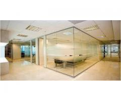 Gypsum Partition ,Ceiling Glass Partitions Shower Glass Partition 052-5868078