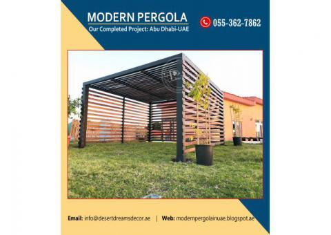 Wooden Pergola Manufacturer and Installing in UAE_Best Priced_Wooden Pergola Price Uae.
