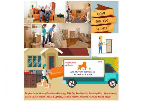 KBG Movers And Packers House Furniture Shifting 055 7867704