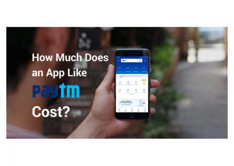 How Much Does It Cost to Develop Wallet App like Paytm?
