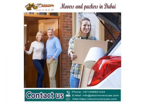Movers and Packers Dubai   Contact A to Z Movers Dubai 0556821424