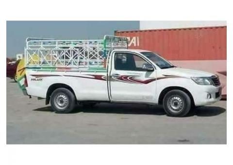 3 ton 1 ton pickup for rent in dubailand 0502472546