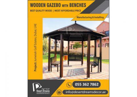 Wooden Gazebo Abu Dhabi   Wooden Gazebo manufacturer in Dubai and Al Ain.
