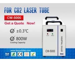 Portable Industrial Chiller Unit CW-5000