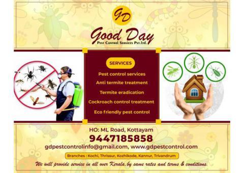 Best Pest management Services in Ernakulam Thrissur Palakkad Malappuram Caclicut Kannur Kasaragod