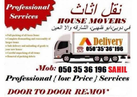 Lowest Movers and Packers in Dubai 0503536196