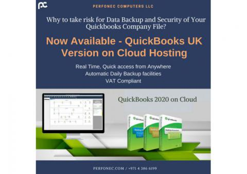 Cloud Hosting Solution in 2020- Quickbooks UK Edition, Perfonec