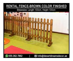 Fences Price | Renting Fences for Events in Uae.
