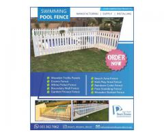 Solid Wood Fences Uae | Hardwood Fences | White Picket Fences Uae.