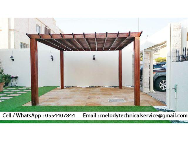 Pergola Suppliers in Dubai | Wooden pergola | Garden Pergola UAE