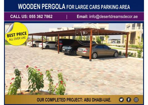 Car Parking Wooden Structures Uae | Car Parking Pergola Uae.
