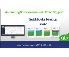 Accounting Software on Cloud in UE, Quickbooks UK 2020, Perfonec