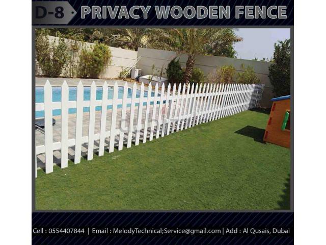 Garden Fence Suppliers Dubai | Wooden Fence UAE | Picket Fence Dubai