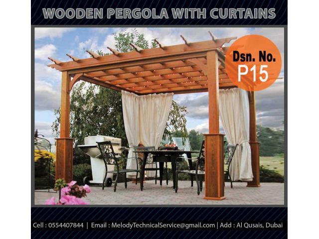Dubai Restaurant Pergola Design | Wooden Pergola Suppliers | Outdoor Pergola Dubai