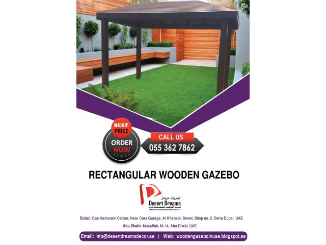 Wooden Gazebo Supplier with Most Affordable prices All Over Uae.