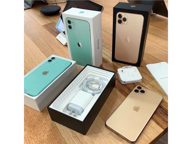 Apple iPhone 11 Pro - 256GB/whatsapp chat: +14148854205