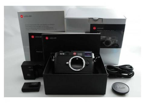 Leica M M9 18.0MP Digital Camera - (Body Only)