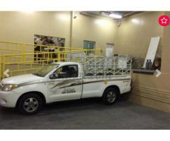 pickup truck for rent in Al barsha 0504210487