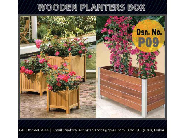 Garden Planters Box Suppliers | Wooden Planters In Dubai | Planters Box UAE
