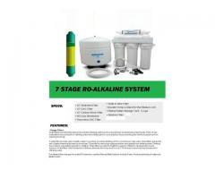 7 Stage RO-Alkaline Drinking Water System