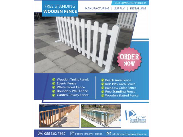 Self Standing Fences Uae | Events Fences | Kids Privacy Fences Dubai.