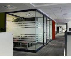 DISMANTLING OFFICE GLASS PARTITION/ GYPSUM PARTITION FIT OUT 0525868078
