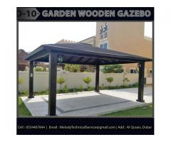 Garden Gazebo In Dubai | Gazebo Suppliers | Wooden Gazebo Dubai
