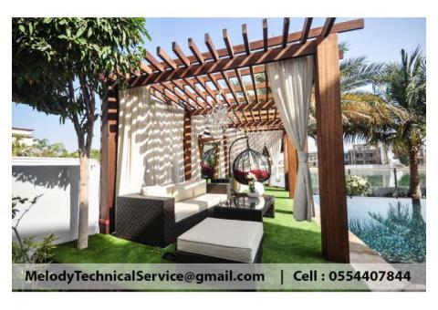Swimming Pool Pergola At Abu Dhabi | Wooden Pergola | Pergola Suppliers in Abu Dhabi