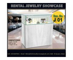 Jewelry Showcase in Abu Dhabi | Rental Display Stand in Abu Dhabi